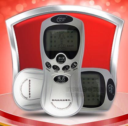 厂家直销多功能数码经络理疗仪AY-208颈椎治疗仪