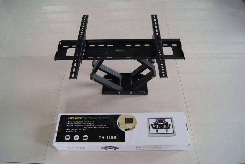 厂家直销led液晶电视支架 双臂液晶电视旋转挂架