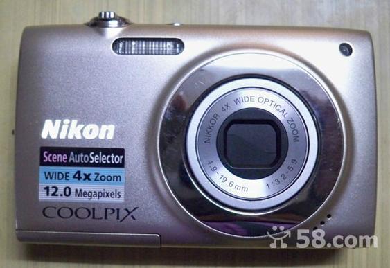 低价转让95成新尼康S2500数码相机1200万像素