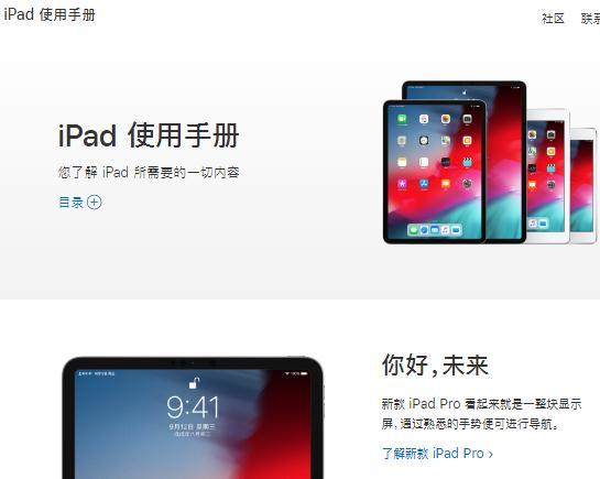 苹果iPad Pro说明书,苹果iPad使用说明书下载