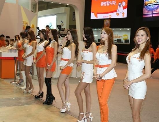 G-Star 2014韩国最大游戏展美丽Show Girls图集