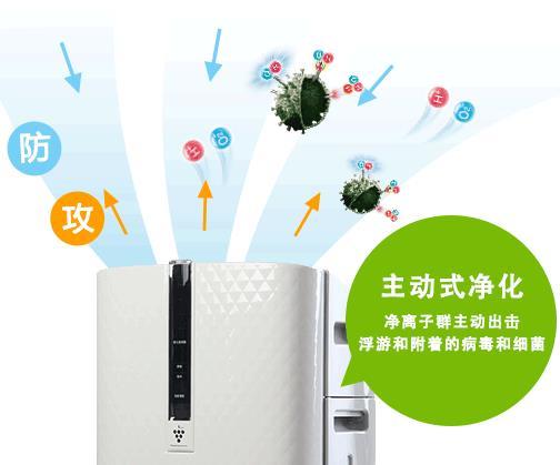 夏普空气净化器KC-W280SW热销爆款美图
