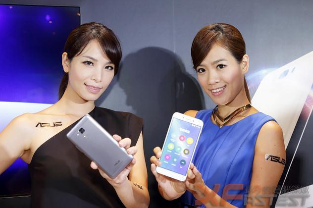 华硕手机zenfone3发售,发布会美女云集