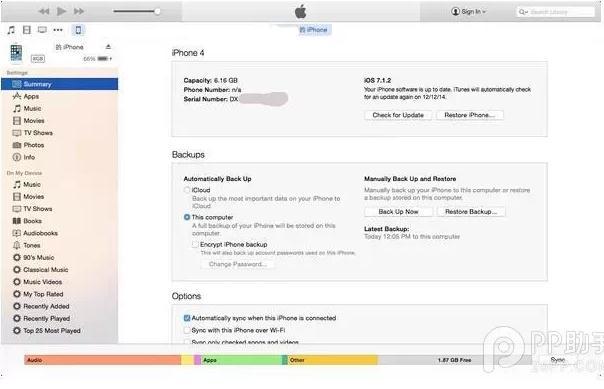 苹果平板电脑显示iPad已停用连接iTunes怎么办
