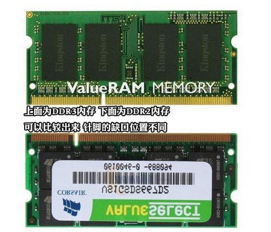 笔记本电脑DDR2和DDR3的区别 能一起用吗