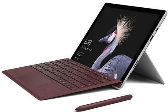 微软首次选择在中国发布最新Surface Pro