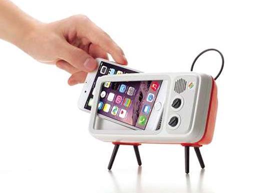 迷你电视手机架Retroduck