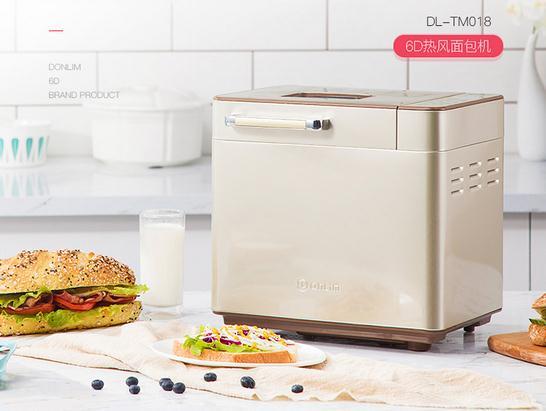 东菱面包机DL-TM018智能撒果料 促销价309元
