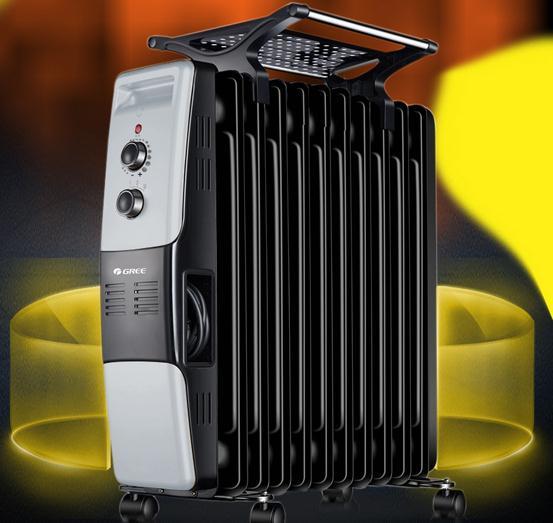 格力油汀取暖器NDY07-X6021房屋整体升温快 劵后228元
