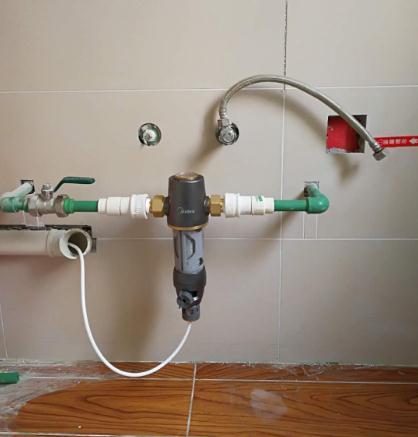 美的全屋中央净水器怎么样QZBW20S-12使用评测