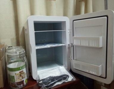 夏新迷你小冰箱能用吗HD-6L使用评测