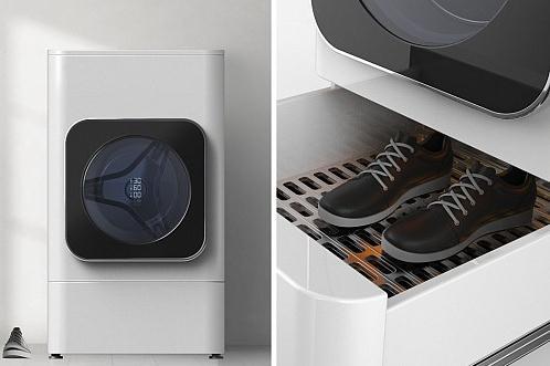 """""""可以衣服鞋子一起洗的概念洗衣机"""""""