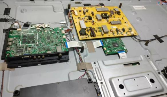 小米电视通电无反应故障维修(L47M1-AA)