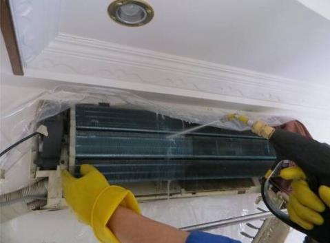 无防护清洗空调三年诱发肝脓肿险命