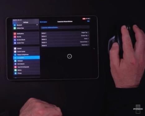 新款苹果iPhone、iPad将支持用鼠标操作
