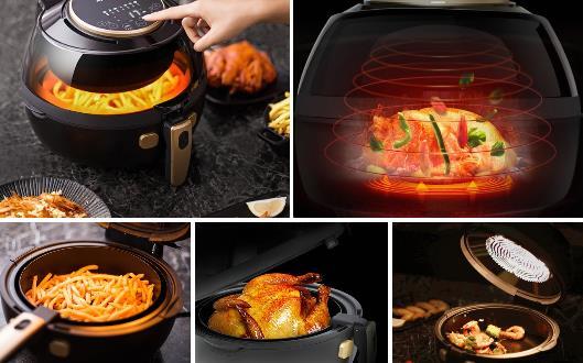 九阳空气炸锅 竟能煮出9万几种菜式