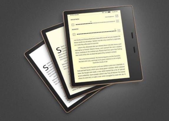 亚马逊新款Kindle Oasis电纸书屏幕色温随你调