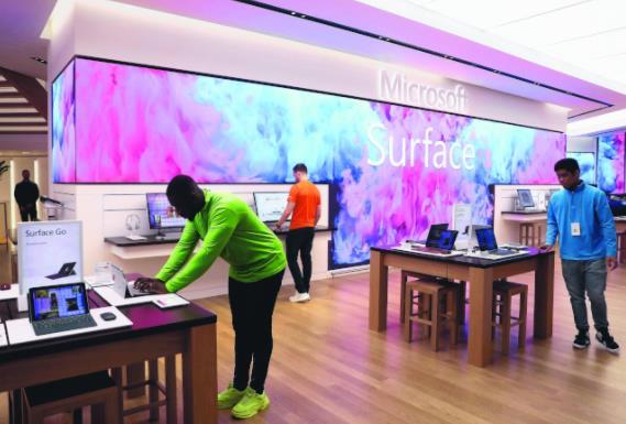 微软Surface将推双屏幕折叠笔记本电脑