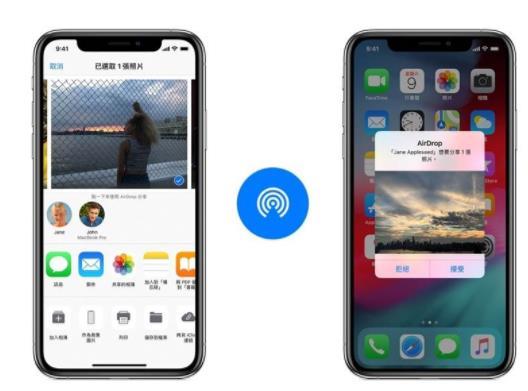 苹果iPhone11搭全新U1芯片 AirDrop传送更准确