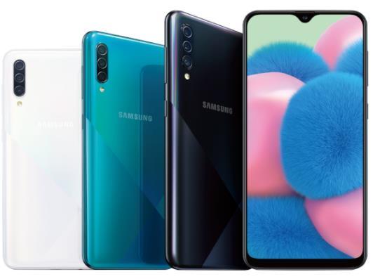 三星Galaxy A30s手机主打3镜头相机
