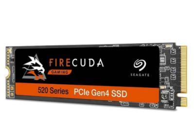 希捷推出全新FireCuda 520 SSD固态硬盘