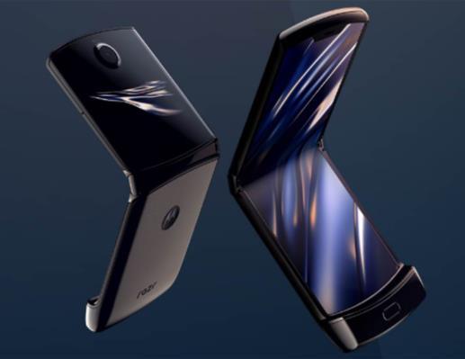 摩托罗拉razr可折叠屏手机正式发布