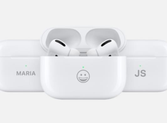 苹果AirPods充电盒镌刻升级 新增Emoji表情符号个人化选择
