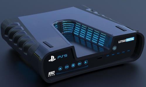 PS5游戏机向下兼容PS至PS4游戏 外形再有变化