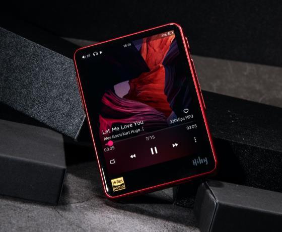 Hiby R3 Pro (RED) DAP播放器红色限量版 硬件升级机身更靓