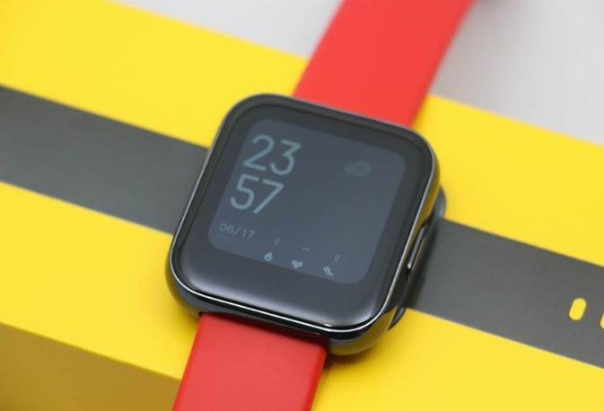 realme智能手表可24小时检测心率