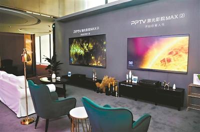 激光电视在彩电市场上的增长趋势明显