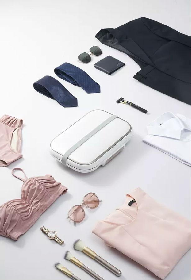 卓力无线折叠衣物消毒盒YC453